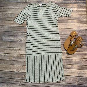 LuLaRoe Cute Striped Julia Dress
